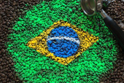 kawa ziarnista Brazylia Santos Cafe ina