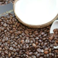 Kawa o smaku kokosowym