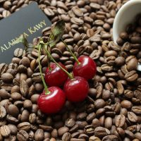 Kawa o smaku wiśniowym