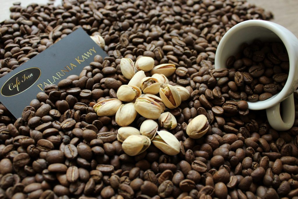 Kawa smakowa aromatyzowana pistacjowa