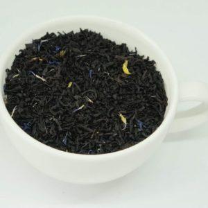 Earl Grey Blue to klasyczna czarna herbata z dodatkiem niebieskiego bławatka