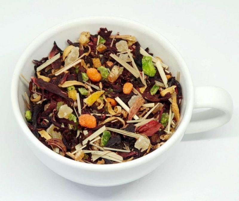 Herbata Owocowa z trawą cytrynową