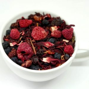 Herbata Owocowa z Malinami