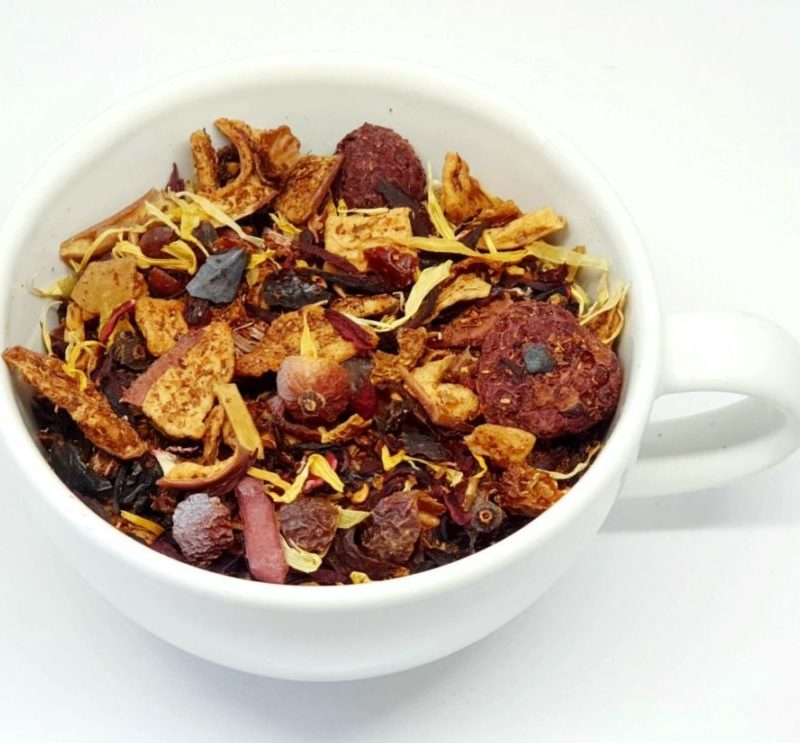 Herbata Owocowa z Rooibosem i całymi kawałkami owoców