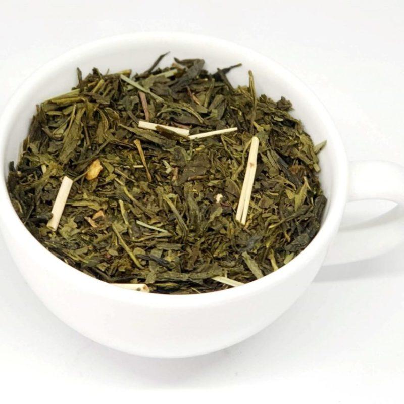 Sencha Lemon zielona herbata z trawą cytrynową