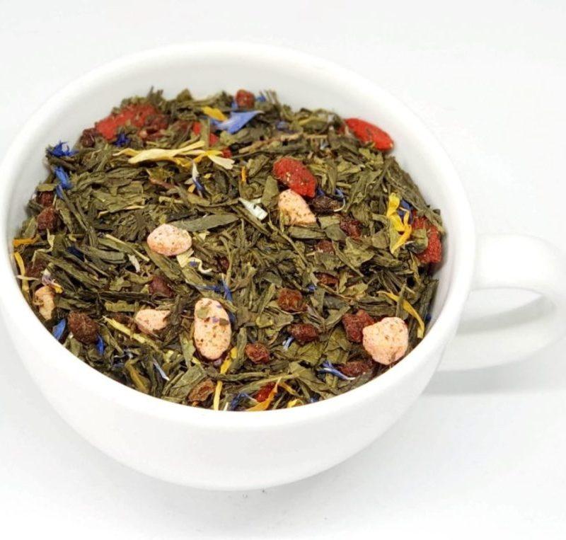 Czerwony Diament to herbata pełna owoców