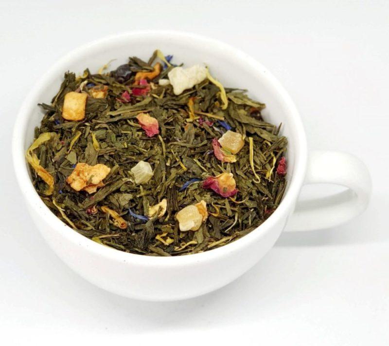 Millenium herbata zielona z dodatkami