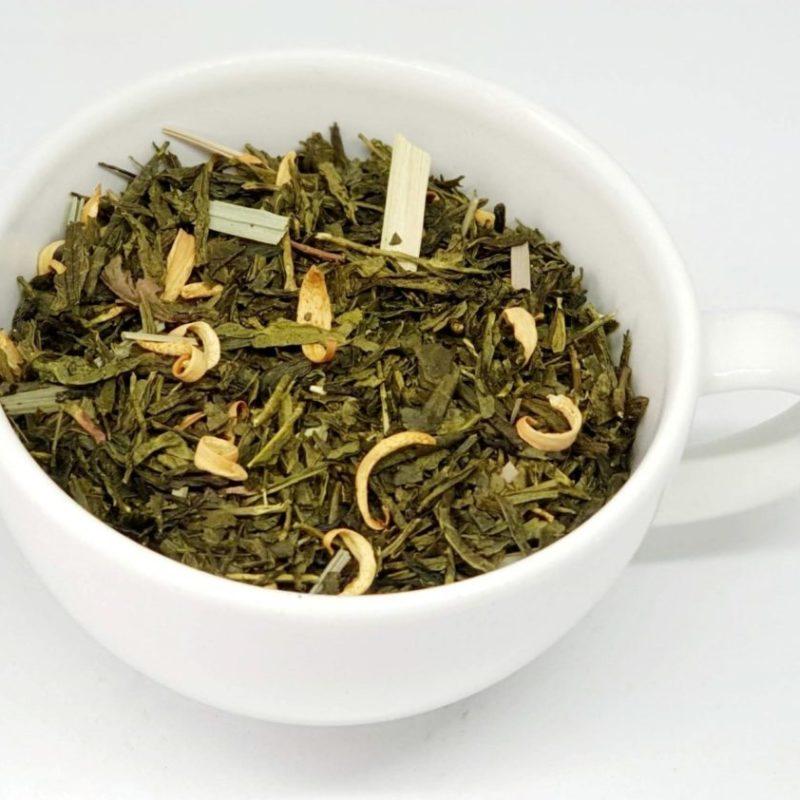 Sencha kaktusowa to delikatnie orzeźwiająca herbata