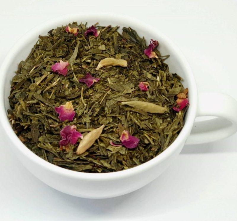 Herbata Zielona z Kardamonem