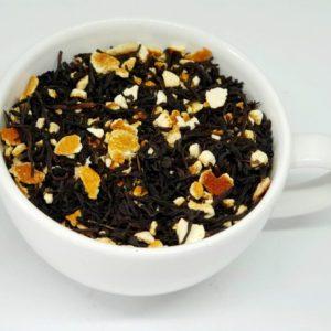 Hiszpańska Mandarynka to połączenie czarnej herbaty z pomarańczami