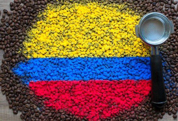 Najwyższej jakości świeżo palona Arabika Kolumbia Excelso