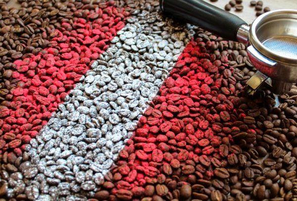 Najwyższej jakości świeżo palona Arabika Peru SHB
