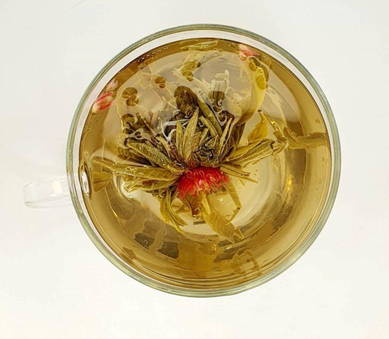 Najwyższej jakości biła herbata rozkwitająca Lichee