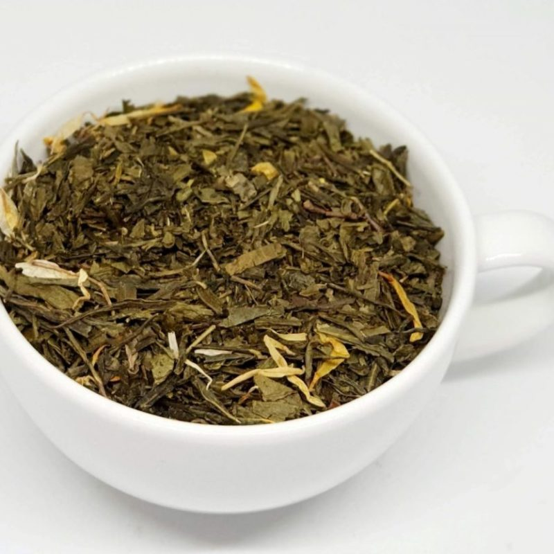 Zielona herbata sencha China z dodatkiem guarany
