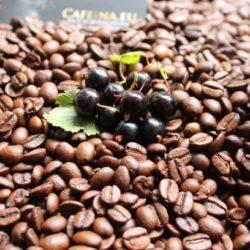 Kawa o smaku czarnej porzeczki