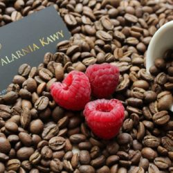 Kawa o smaku malinowym