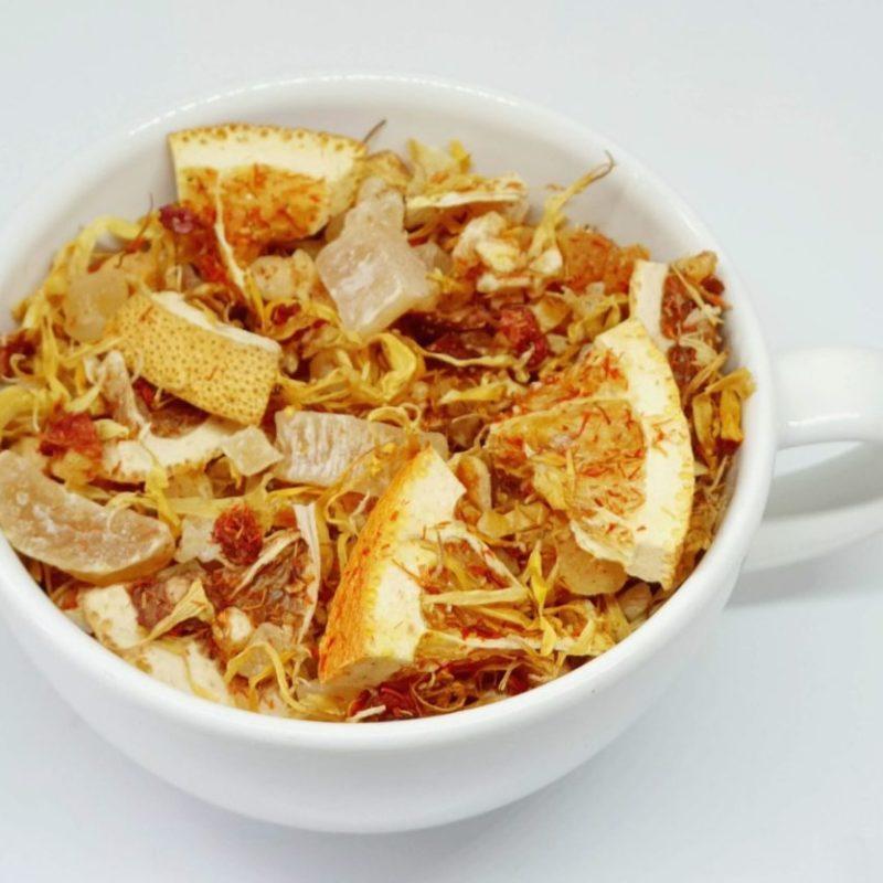 Herbata Owocowa z Mnogo i Melonem