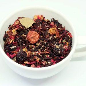 Herbata Owocowa z hibiskusem Leśne Skarby