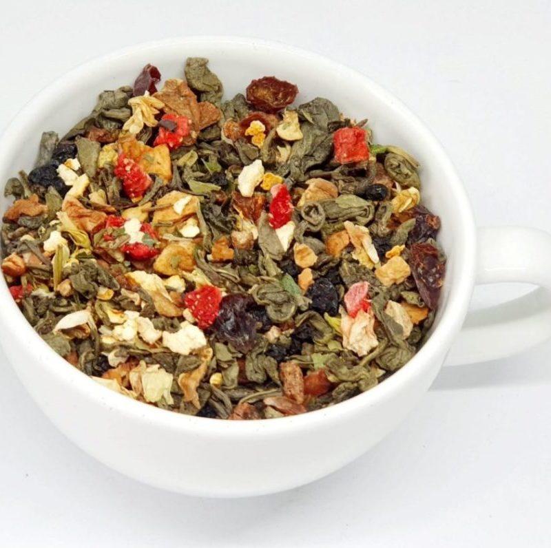 Herbata funkcjonalna na dobry początek dnia