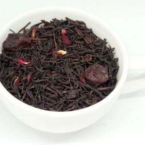 Wiśnie w Rumie to połączenie czarnej herbaty z wiśniami i aromatem rumowym