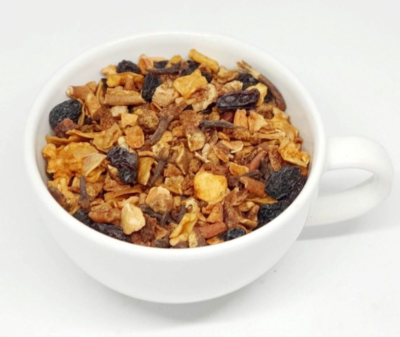 Herbata owocowa z całymi kawałkami owoców
