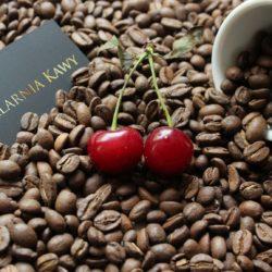 Kawa o smaku wiśniowo – rumowym