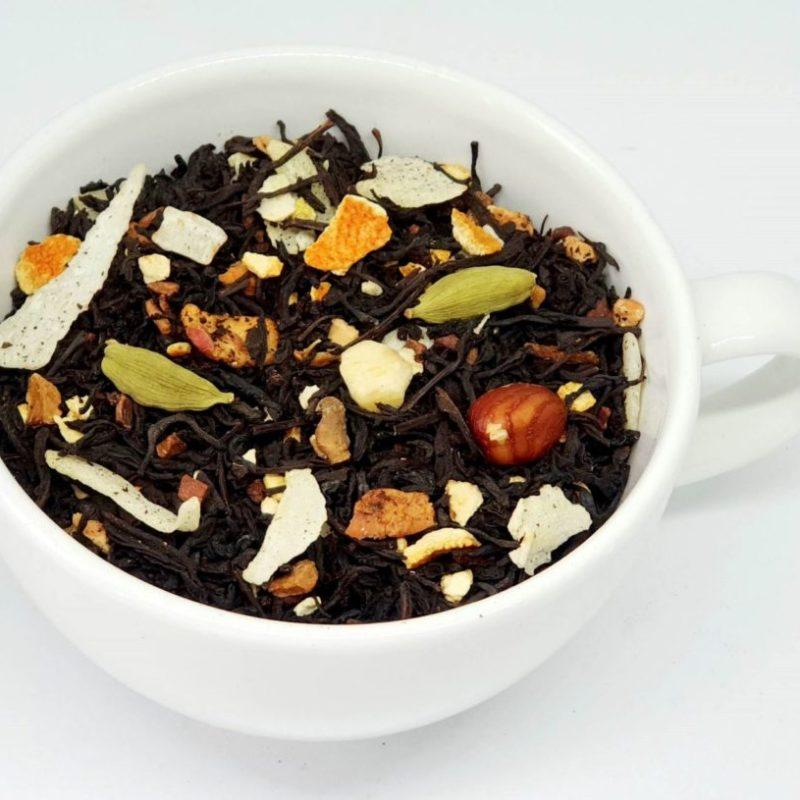 Herbata czarna dary jesieni z cynamonem i kardamonem