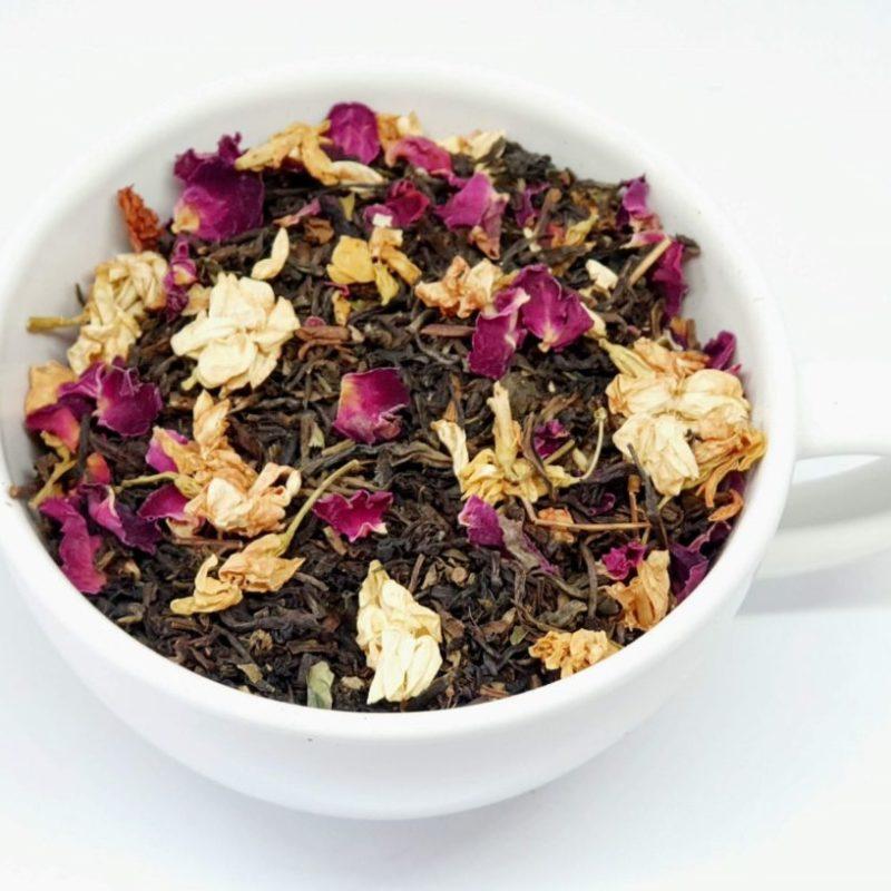 Najwyższej jakości czarna herbata z jaśminem