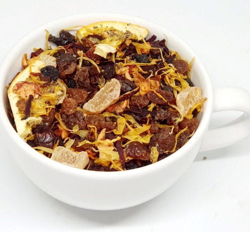 Herbata Owocowa z dodatkiem buraka