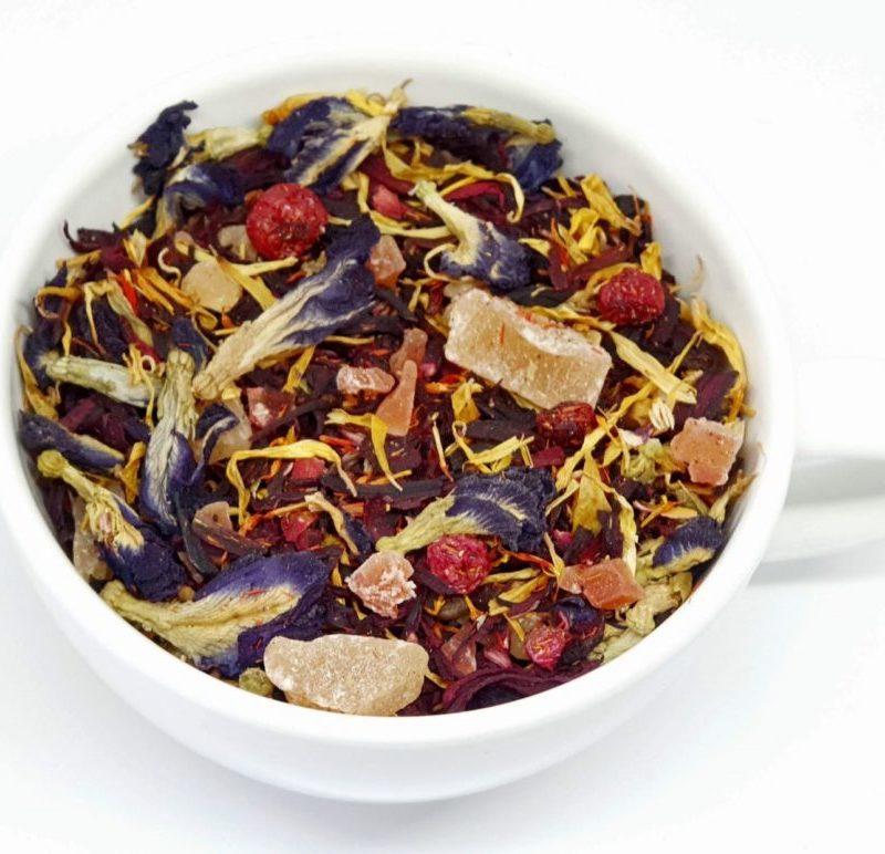 Herbata Owocowa z klitorą