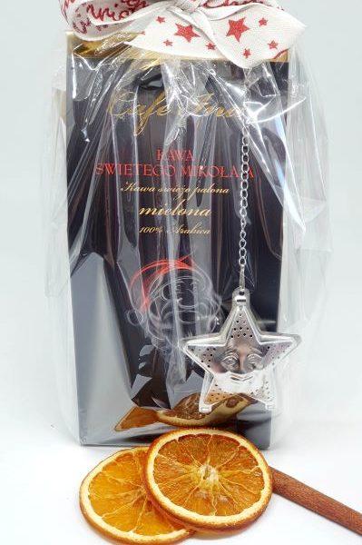 Mini zestaw świąteczny Kawa Świętego Mikołaja oraz Herbat List do Świętego Mikołaja