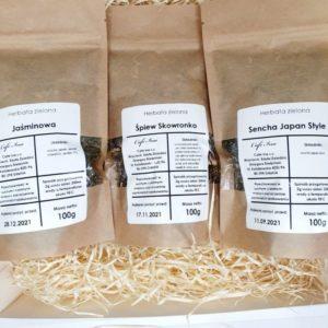 Zestaw Herbat Zielonych najwyższej jakości