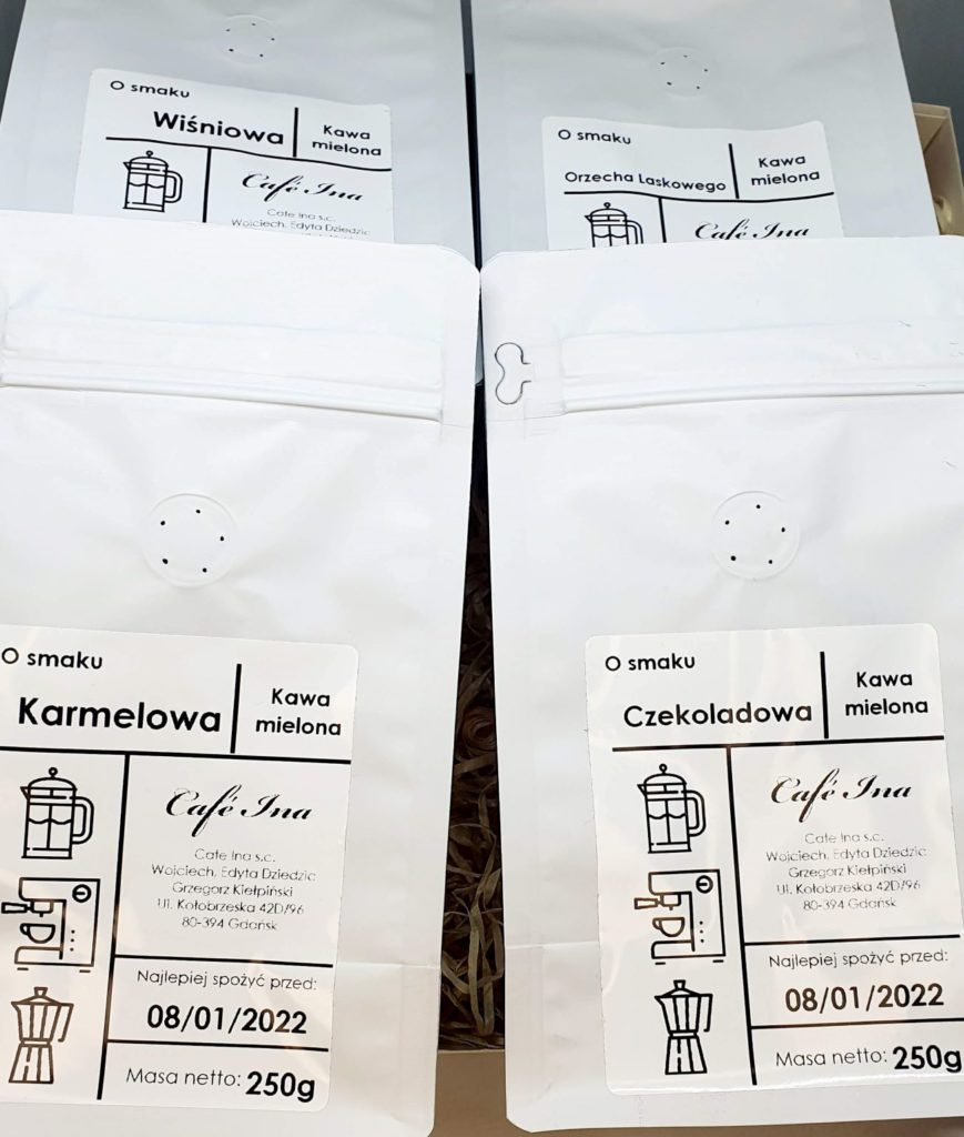 Zestaw Kawa Smakowa 4 x 250 g