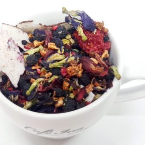Herbata Owocowa z Klirorią i owocami