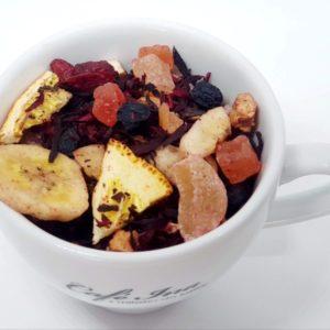 Herbata Owocowa Owocowa Historia to eksplozja owoców i aromatu w filiżance