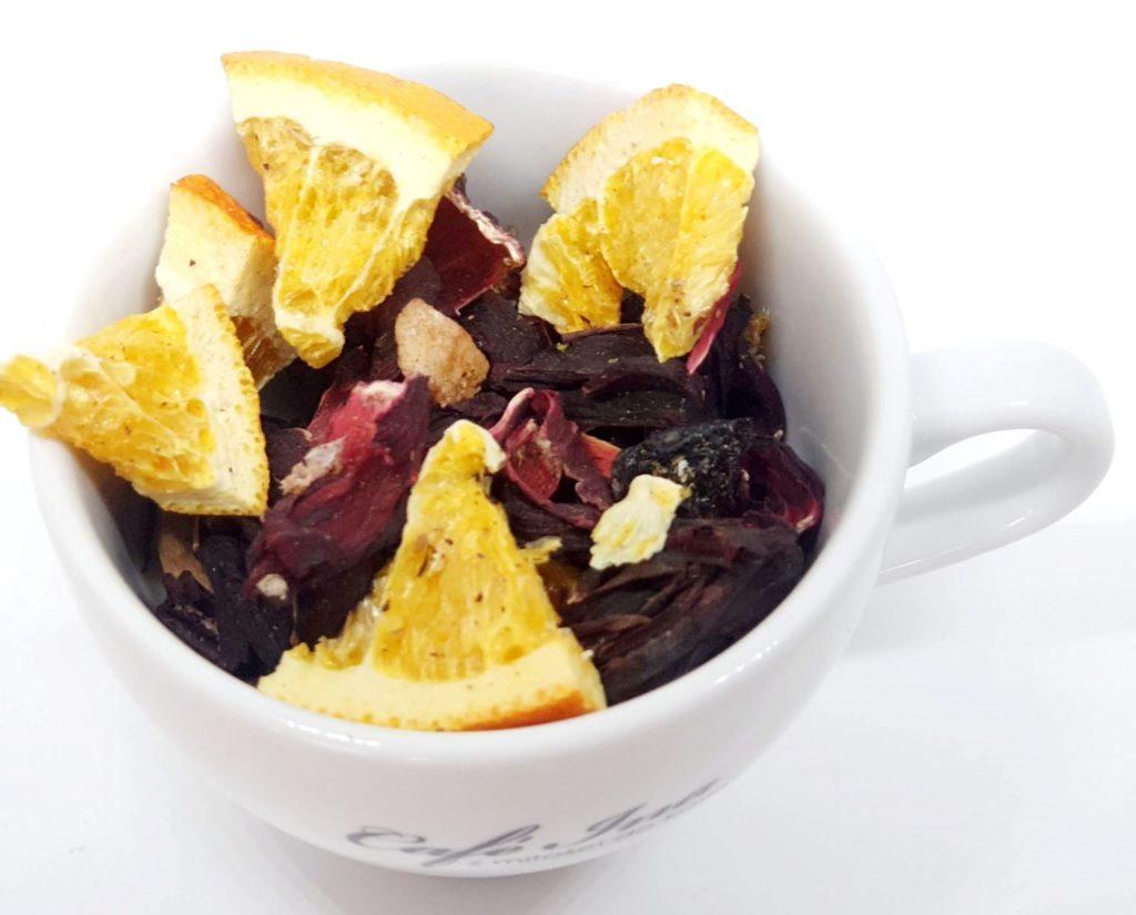 Owocowa Melodia - herbata pozbawiona sztucznego aromatu