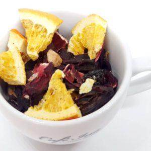 Herbata Owocowa Owocowa Melodia to herbata pozbawiona dodatkowych aromatów