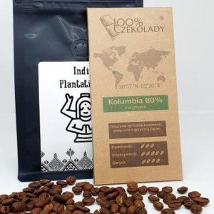 Najwyższej jakości świeżo palona kawa i czekolada