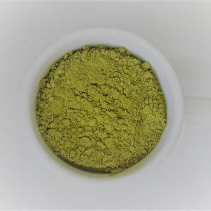 sproszkowana zielona herbata