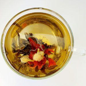 Najwyższej jakości ręczenie zwijana biała herbata